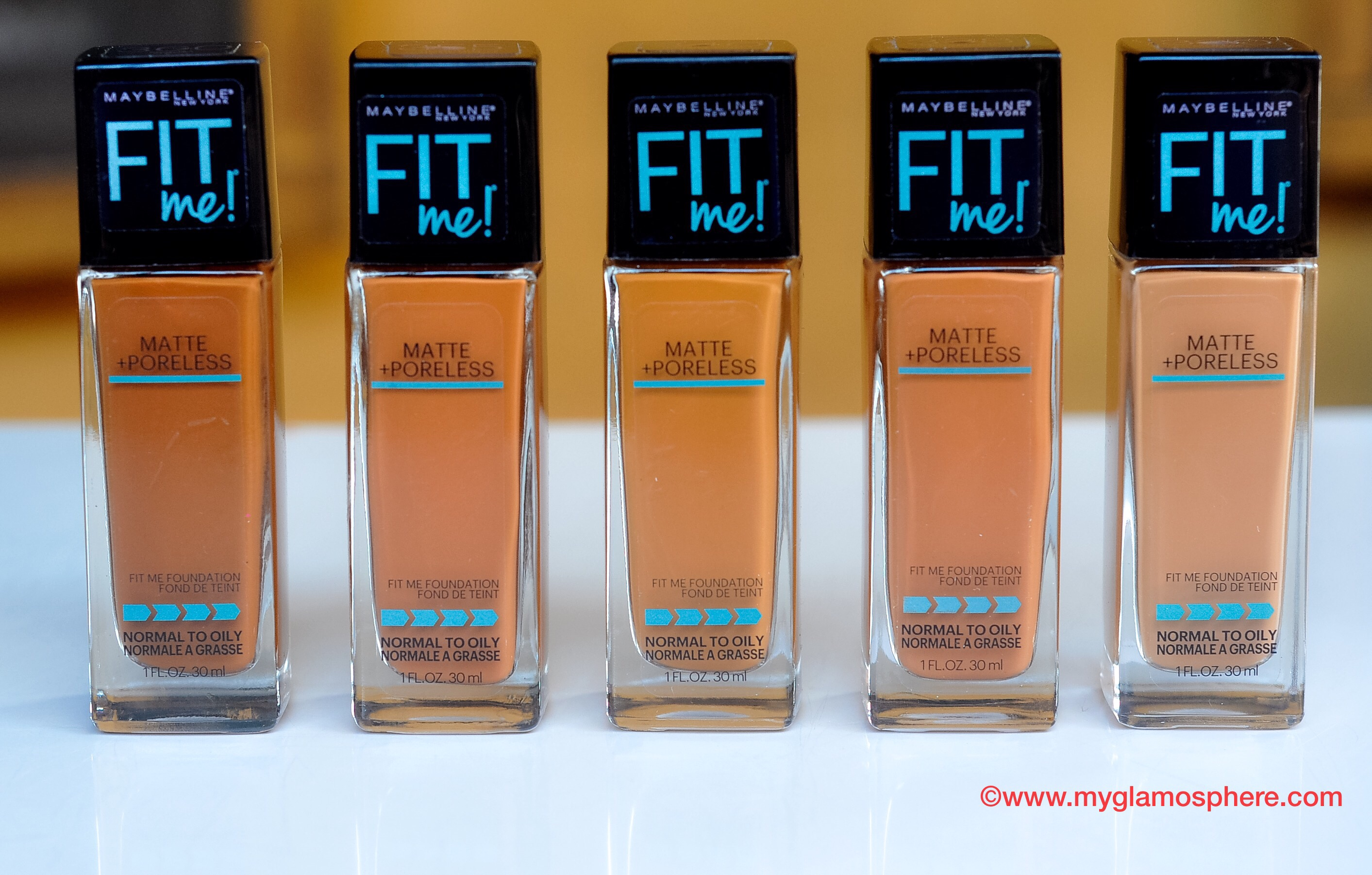 Maybelline Fit Me Matte Poreless Foundation Review Swatches And Price Glam O Sphere