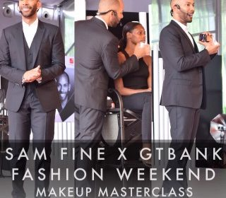 Sam Fine x GTBank Fashion Weekend Makeup MasterClass