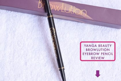 Yanga Beauty BrowLution Eyebrow Pencil - Review and Swatch